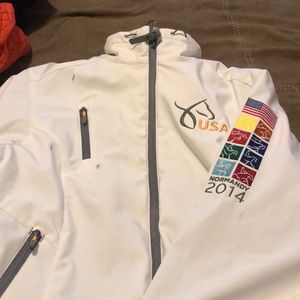 Official USEF Equestrian Normandy softshell jacket